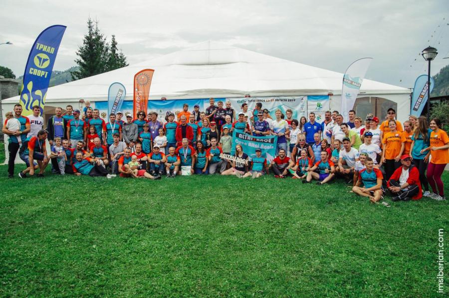 Третий фестиваль триатлона Altai3Race
