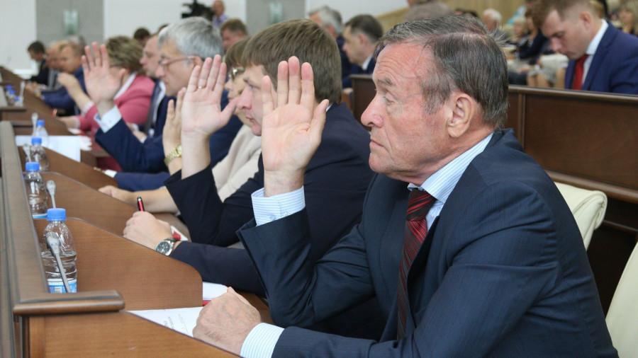 Депутаты Барнаульской гордумы принимают генплан 30 августа 2019 года