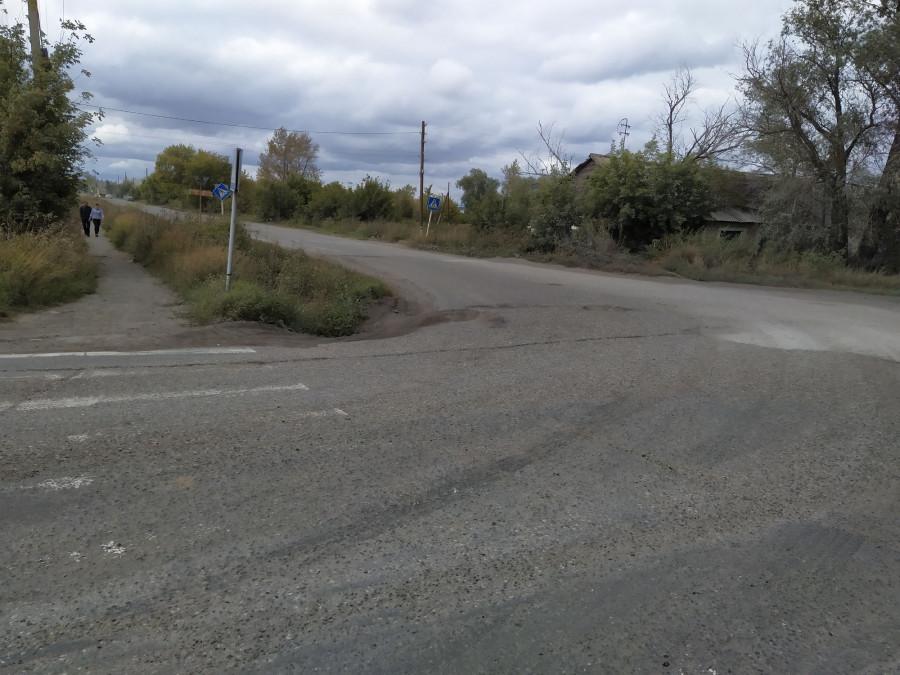 Дороги в Камне-на-Оби.