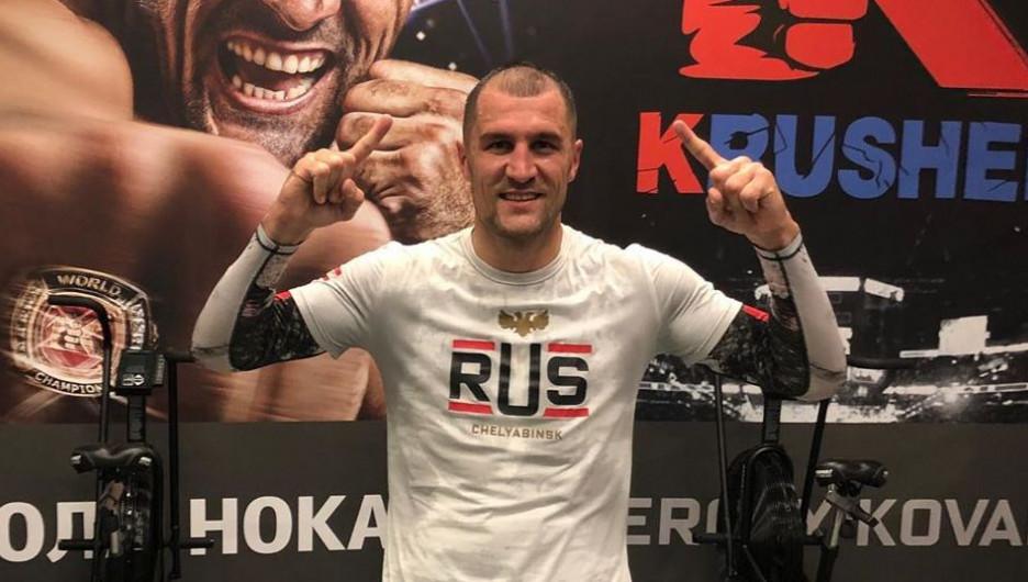 Боксер Сергей Ковалев.