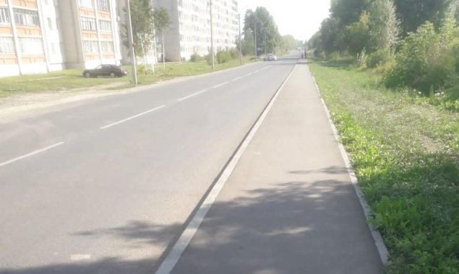 Место ДТП в Новоалтайске.