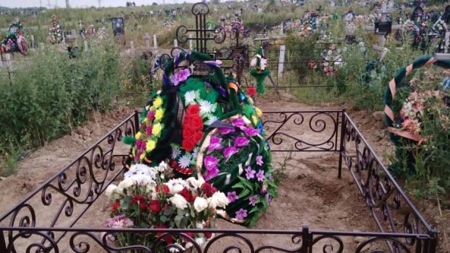 Могила Алексея Богданова.