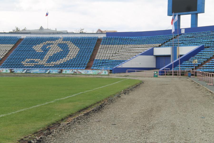 """Ремонт на стадионе """"Динамо"""""""