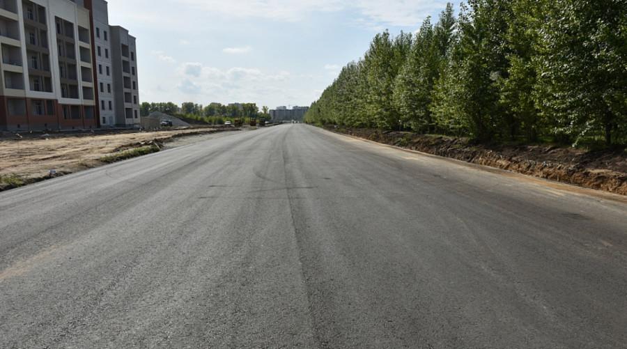 Строительство дороги на Солнечной Поляне.