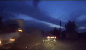 Авария с грузовиком в Бийске 8 сентября.