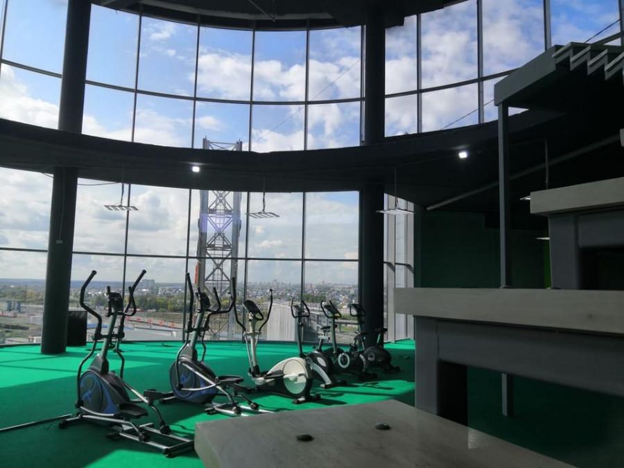 В ТРЦ «Пионер» открылся тренажёрный зал сети «Рельеф».