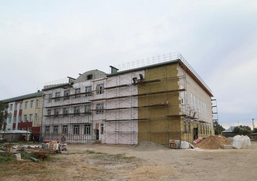Модернизация школы и лицея в Ключевском районе.