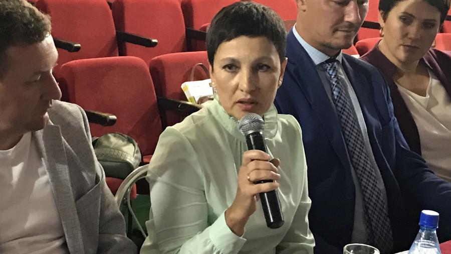Мира Смолякова, глава Зудиловского сельсовета.