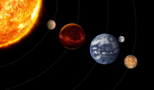 Парад планет. Космос