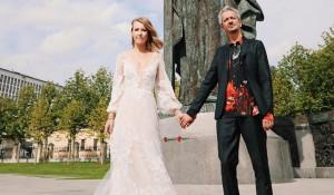 Свадьба Ксении Собчак и Константина Богомолова.