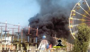 """Пожар в парке """"Арлекино"""""""