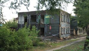 Деревянные дома на ул. Интернациональной.