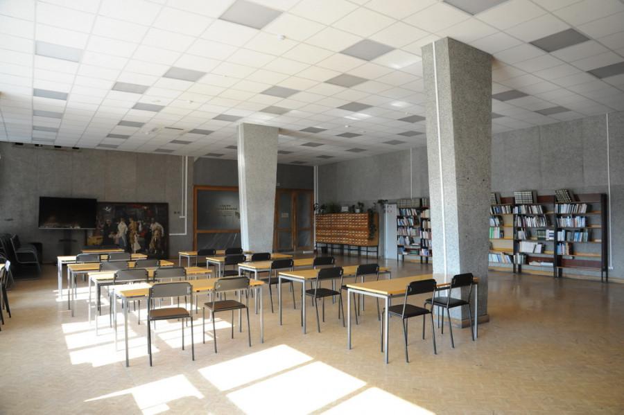 Ремонт третьего этажа в библиотеке им. Шишкова.