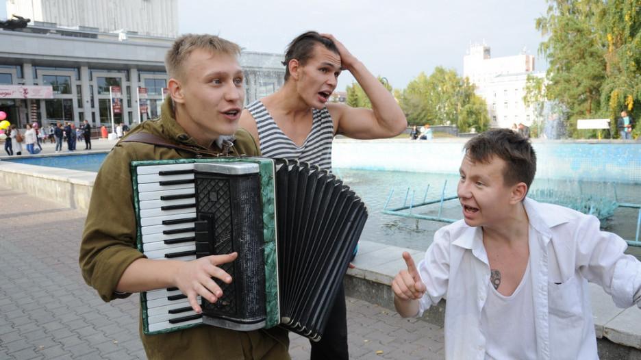 Открытие театрального фестиваля «Здравствуйте, люди!»/