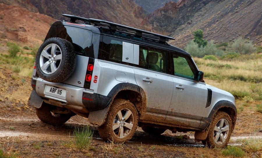 Компания Land Rover представила новый Defende.