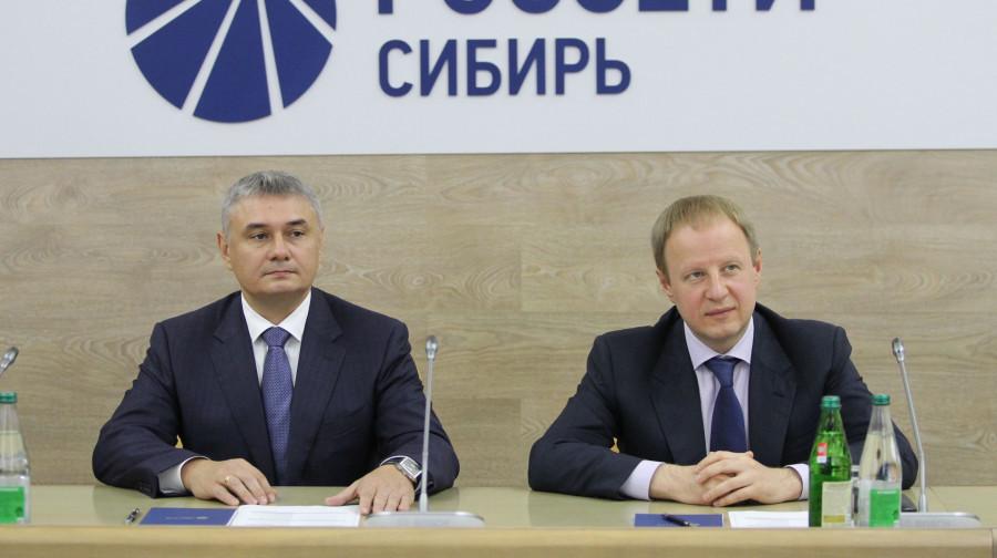 Павел Акилин и Виктор Томенко.