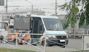 Автобус с аудиорекламой
