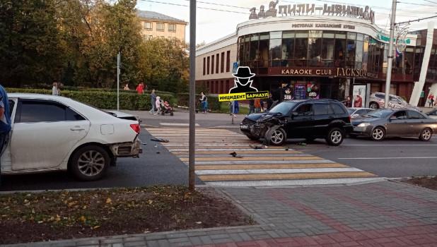 Столкновение на проспекте Ленина