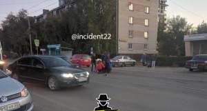 ДТП на ул. Челюскинцев 24 сентября.