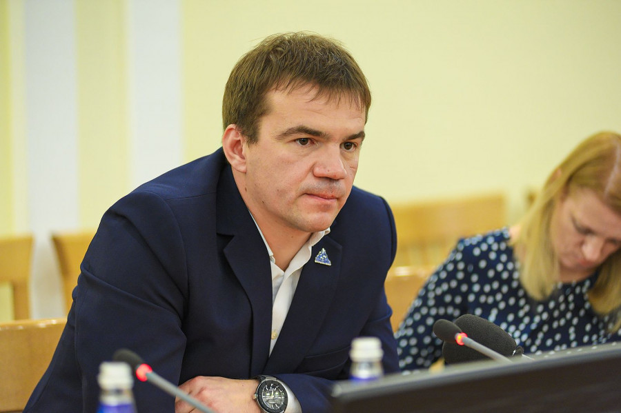 "Александр Усачев, главный тренер ""Динамо-Алтай"""