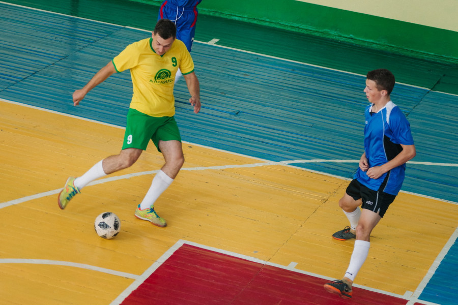 Турнир по мини-футболу.