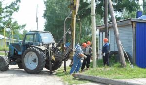 Строительство волоконно-оптических линий связи в частном секторе Славгорода и Ярового.