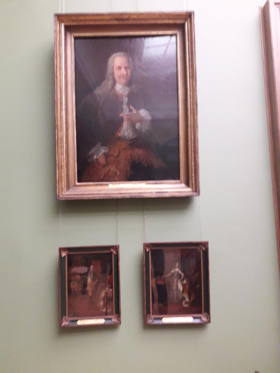 Портрет А. Демидова в Третьяковской галерее. Автор Гроот Георг Кристофор