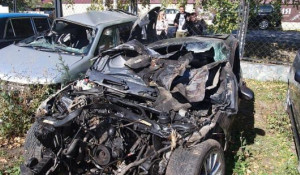 Сын бывшего алтайского антикоррупционера попал в серьезную аварию