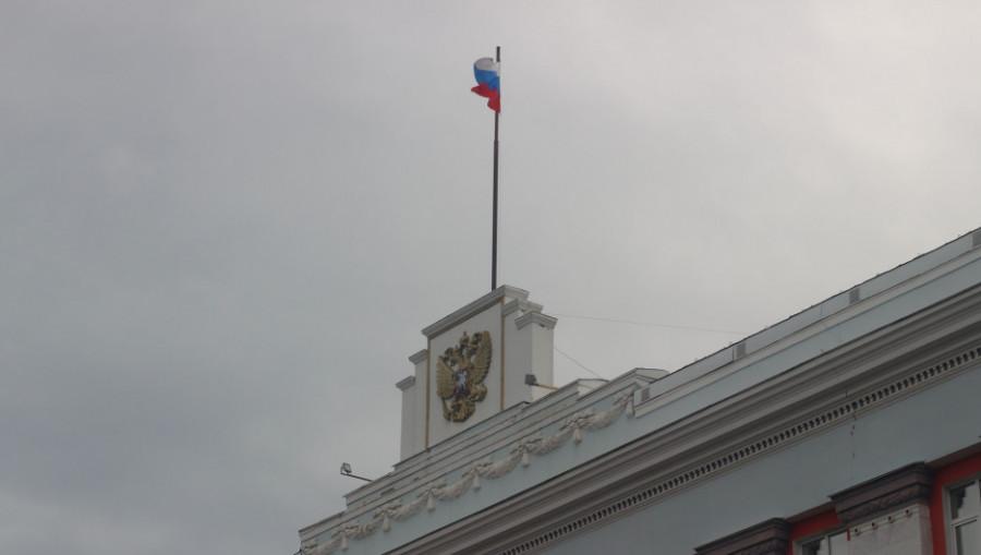 Правительство Алтайского края, флаг.
