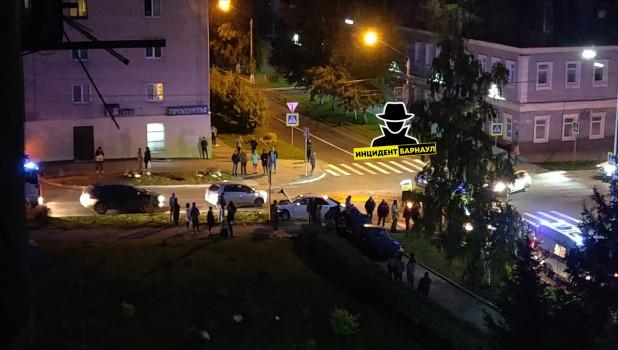 ДТП на ул.Никитина.