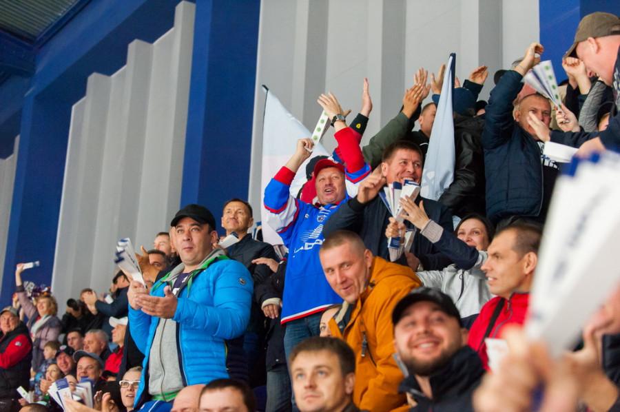 """Как открывали дворец спорта """"Титов-Арена"""""""