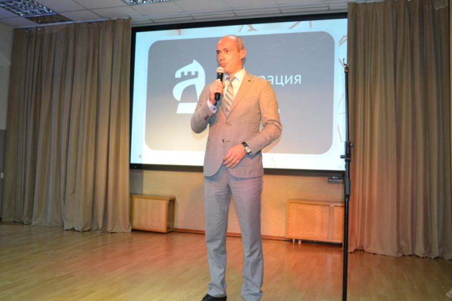 Артем Поломошнов, президент Федерации шахмат Алтайского края.