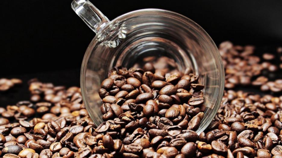 Кофе зерна.