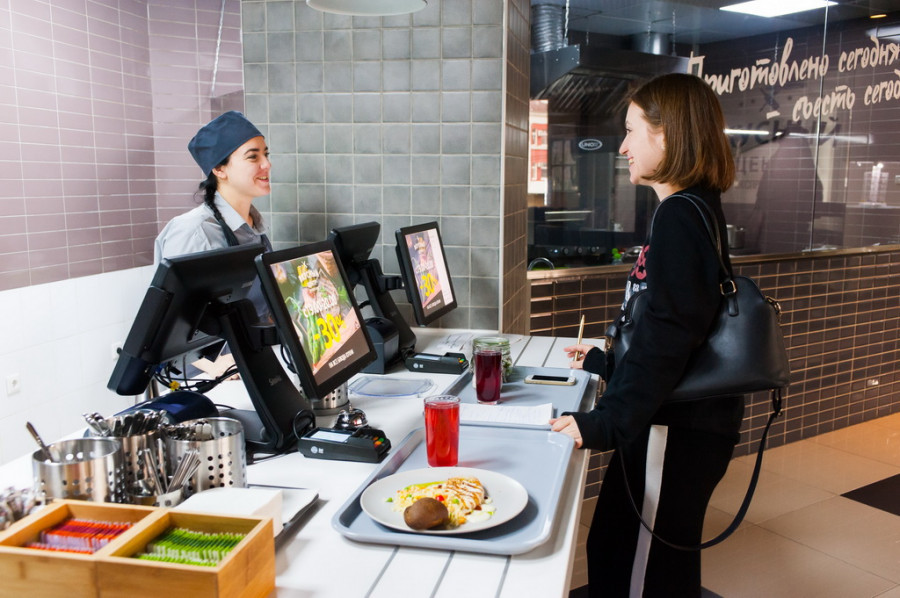 Экспресс-кафе нового формата «Вкусный центр».