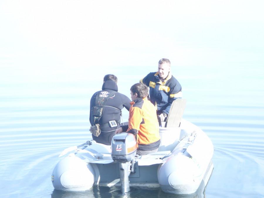 Подводная охота на Алтае.