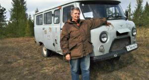 Писательница Мария Семенова на Алтае