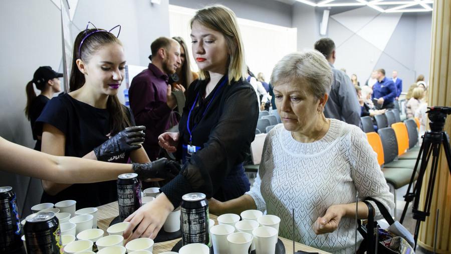 БПЗ представил линейку энергетических напитков BUZZ на форуме АлтаПродМаркет».