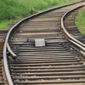 Рельсы, железная дорога.