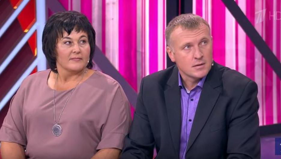 Директор Новокалманской школы Антонина Коваленко и глава села Виктор Проскурнов.