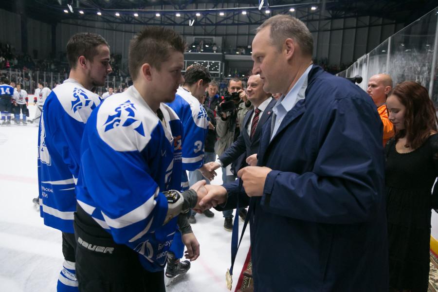 Пол Хеберт, президент «Американской ассоциации университетского хоккея» (ACHA)