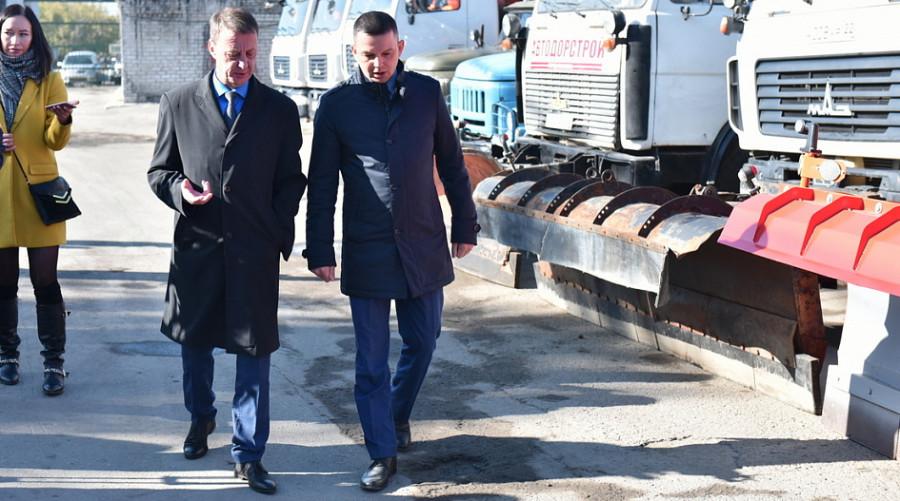 Выездное совещание по завершению дорожно-строительного сезона в рамках нацпроекта «Безопасные и качественные автомобильные дороги».