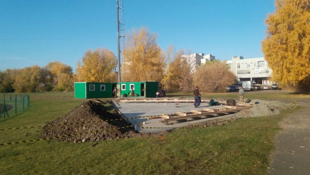 В Барнауле появится скалодром.