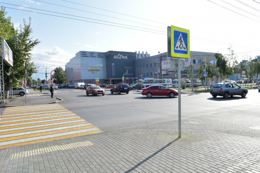 Перекресток пр-т Ленина - ул. Гоголя