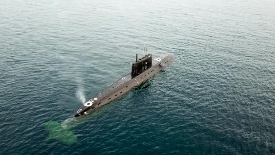 Подводная лодка.