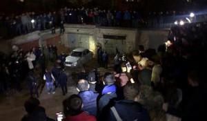 Стихийный митинг в Саратове