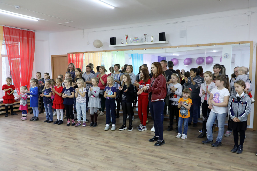 Кабинет хореографии в Центре детского творчества.
