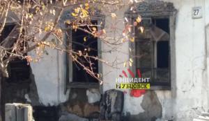 Пожар в частном доме в Рубцовске