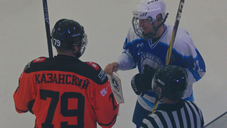 Хоккейный турнир «Бочкаревский лед».