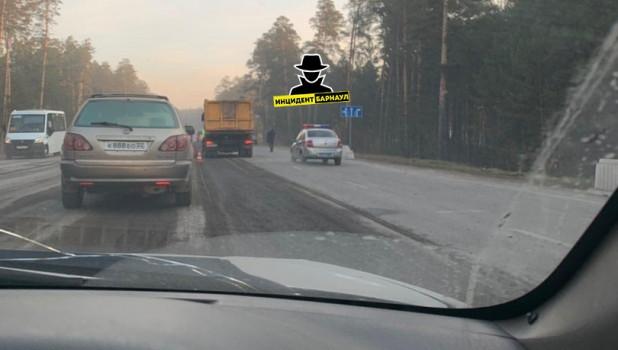 Смертельное ДТП в Барнауле.