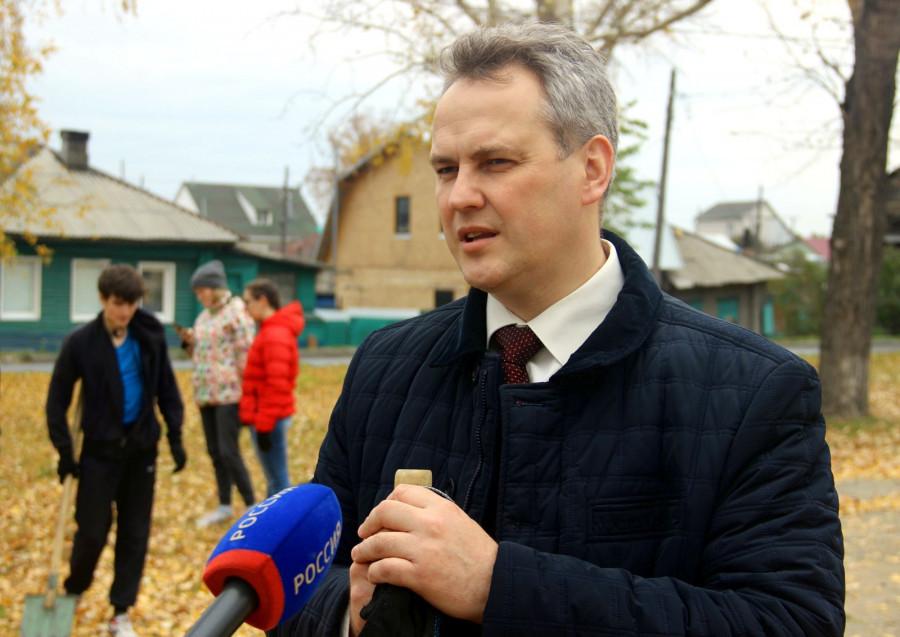 Ректор вуза Сергей Бочаров.